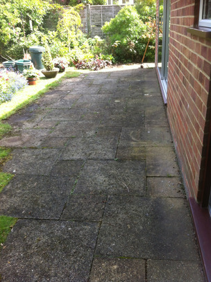 Drivewy & Patio Cleaning from Whitbreads Window Cleaning Services Farnham window cleaner Fleet